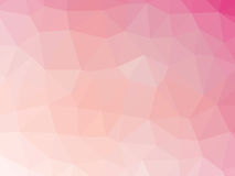 Abstract pink gradient low polygon shaped background.  Stock Photo