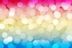 Abstract pink green bokeh background royalty free stock photography