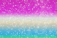 Abstract pink green bokeh background. Abstract pink green blue bright beautiful bokeh background. Christmas concept stock photography