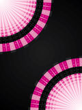 Abstract pink halftone Royalty Free Stock Images