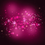 Abstract pink lights background Royalty Free Stock Images