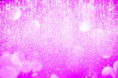 Abstract pink  lights on background Stock Photography