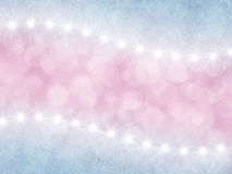 Abstract pink and lilac background with stars Royalty Free Stock Images