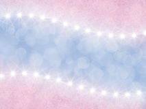Abstract pink  and lilac background with stars Stock Image