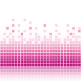Abstract pink mosaic background Stock Photography