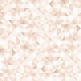 Abstract pink mosaic pattern. Vector seamless background. Stock Images