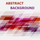 Abstract pink and orange geometric overlapping background Royalty Free Stock Photos