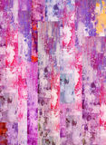 Abstract pink painting Stock Image