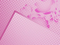 Abstract pink points Stock Images