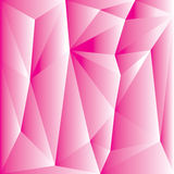 Abstract pink polygon for background Stock Photo