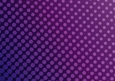 Abstract pink and purple color of geometric shapes halftone patt. Ern. Texture pixel Curved mosaic dotted background. Pop art template. Vector illustration Royalty Free Stock Photos