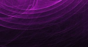 Abstract pink and purple light glows, beams, shapes on dark background Stock Photography