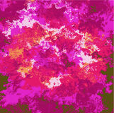 Abstract pink, purple and red exotic background Royalty Free Stock Photos