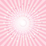 Abstract Pink rays and stars background. Vector EPS 10 cmyk Stock Images