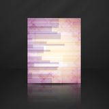 Abstract Pink Rectangle Shapes Background. Royalty Free Stock Image