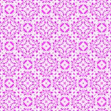 Abstract pink retro pattern. Texture background.  Seamless illustration. Royalty Free Stock Photos