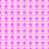 Abstract Pink Rhombus Seamless Pattern Royalty Free Stock Photo