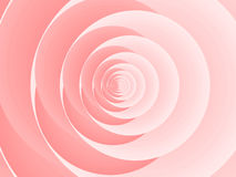 Abstract pink rose Stock Image