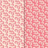 Abstract pink seamless patterns for textile, fabrics or wallpapers. Abstract seamless patterns for textile, fabrics or wallpapers. Pink backgrounds Royalty Free Stock Photography
