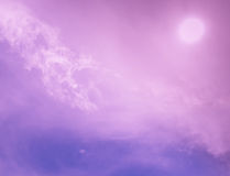 Abstract pink sky Royalty Free Stock Photos