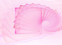 Abstract pink snail Royalty Free Stock Photo