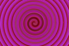 Abstract pink spin Stock Images