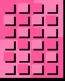 Abstract Pink Square Background. S and textures illustration Royalty Free Stock Images