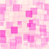 Abstract Pink Squares Futuristic Pattern Royalty Free Stock Photography