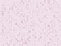 Abstract pink squares texture. With slight 3D appearance. Great for backgrounds Stock Photos