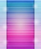 Abstract Pink Stripe Design Composition Stock Photo