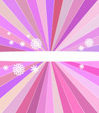 Abstract pink stripes cover Stock Photos