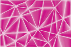 Abstract Pink Triangle Geometrical Background Royalty Free Stock Photo