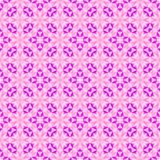 Abstract pink and violet mosaic pattern.  Tile texture background. Seamless illustration. Royalty Free Stock Image