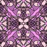 Pink-violet seamless pattern Stock Image