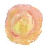Abstract pink watercolor palette Stock Photography