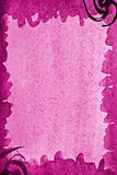 Abstract pink watercolor on paper texture as background Royalty Free Stock Images
