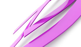 Abstract pink wave background Royalty Free Stock Photos