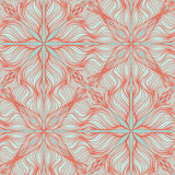 Pink wave seamless pattern Stock Photos