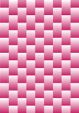 Abstract Pink Weave. A page full of pink rectangular boxes woven together Stock Photography
