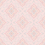 Abstract pink and white geometric Seamless Texture. Abstract Floral Seamless Vector Background Texture. Seamless pattern with lightning ornament on pink Royalty Free Stock Images