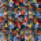 Abstract pixel background royalty free illustration