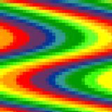 Abstract pixel background, rainbow mosaic, rainbow colors. Abstract abstract pixel background background bright color colorful creative decoration decorative stock illustration