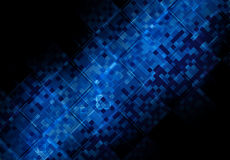 Abstract pixel background on digital screen Royalty Free Stock Photos