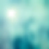 Abstract pixel background. Abstract mosaic background, geometry web design template, beautiful pastel tones, business card pattern Stock Photography