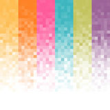 Abstract pixel background Stock Images