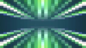 Abstract pixel block moving seamless loop animation background New quality universal motion dynamic animated retro. Abstract pixel block retro moving background vector illustration