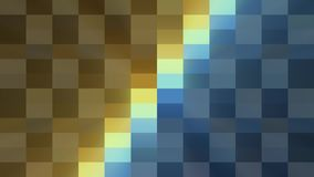 Abstract pixel block moving seamless loop animation background New quality universal motion dynamic animated retro. Abstract pixel block retro moving background royalty free illustration