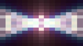 Abstract pixel block moving seamless loop animation background New quality universal motion dynamic animated retro. Abstract pixel block retro moving background stock illustration