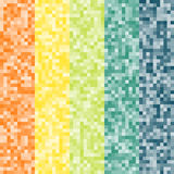 Abstract pixel colorful background Stock Photos