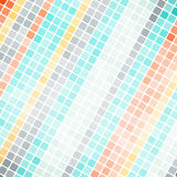Abstract pixel mosaic background Royalty Free Stock Image